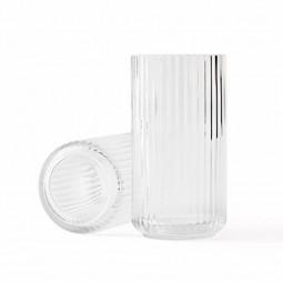 Lyngby Porcelæn Glas Vase Klar 20 cm-20