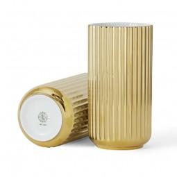 Lyngby Porcelæn Vase Guld 20 cm-20