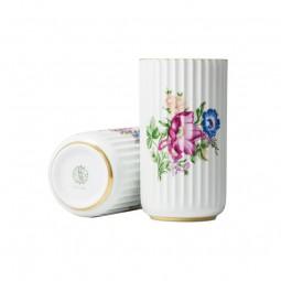 Lyngby Porcelæn Vase Blomster 15 cm-20