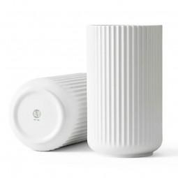 Lyngby Porcelæn Vase Hvid 25 cm-20