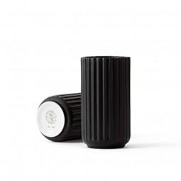 Lyngby Porcelæn Vase Sort 15 cm-20