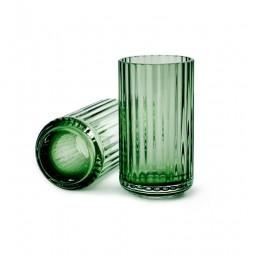 Lyngby Porcelæn Glas Vase Grøn 12 cm-20