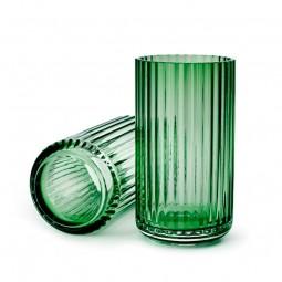 Lyngby Porcelæn Glas Vase Grøn 20 cm-20