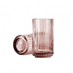 Lyngby Porcelæn Glas Vase Burgundy 12 cm-20