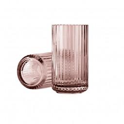 Lyngby Porcelæn Glas Vase Burgundy 15 cm-20