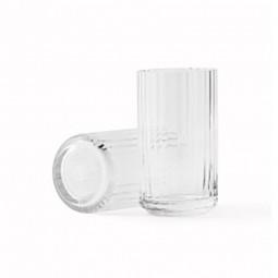 Lyngby Porcelæn Glas Vase Klar 15 cm-20