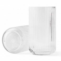 Lyngby Porcelæn Glas Vase Klar 38 cm-20