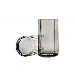 Lyngby Porcelæn Glas Vase Smoke 12 cm-20