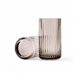 Lyngby Porcelæn Glas Vase Smoke 15 cm-20