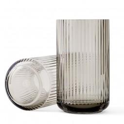 Lyngby Porcelæn Glas Vase Smoke 38 cm-20