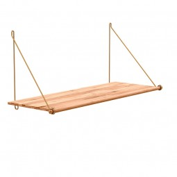We Do Wood Hylde Loop Shelf Bambus Natur/Messing-20