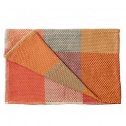 MUUTO Loom Blanket Tangerine-20