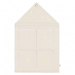 Ferm Living Hus Adventskalender Off-Hvid-20