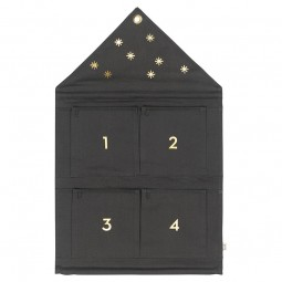 Ferm Living Star Adventskalender Dark Green-20
