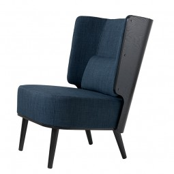 By KlipKlap Lounge Chair Sort Eg – Mørkeblå-20
