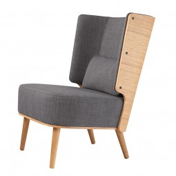 By KlipKlap Lounge Chair Eg Stone-20