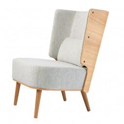 By KlipKlap Lounge Chair Eg Light Grey Melange-20