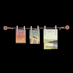 Pytt Living Frame Clamp Billedophæng Stor/Natur-20