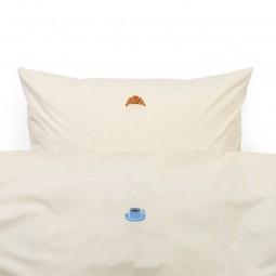 Normann Copenhagen Snooze sengetøj Varm Grå Lazy Morning-20