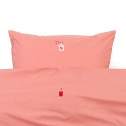 Normann Copenhagen Snooze sengetøj Koral Happy Hangover-20