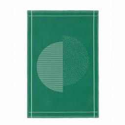 Normann Copenhagen Illusion Viskestykke Grøn-20