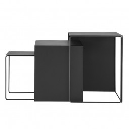 Ferm Living Cluster Bord Sort-20