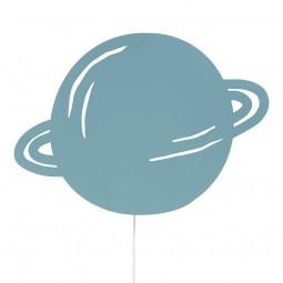 Ferm Living Børne Lampe Planet Støvet Blå-20
