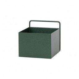 Ferm Living Wall Plant Box Firkantet Mørkegrøn-20