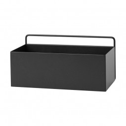 Ferm Living Wall Plant Box Rektangulær Sort-20