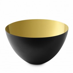 Normann Copenhagen Krenit Skål 25 cm. Guld-20