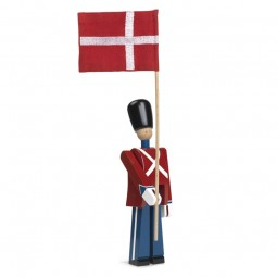 Kay Bojesen Fanebærer Med Tekstilflag Lille-20