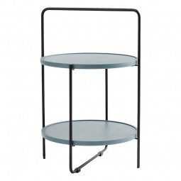 Andersen Furniture Bakkebord Sort/Petroleum-20