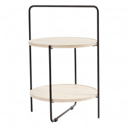 Andersen Furniture Bakkebord Sort/Ask-20