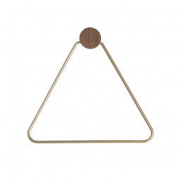 Ferm Living Toiletrulleholder Messing-20