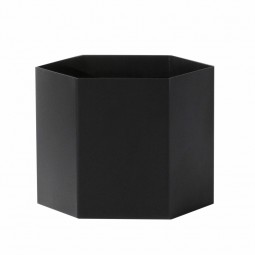 Ferm Living Hexagon Potte XLarge Sort-20