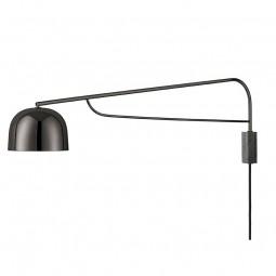 Normann Copenhagen Grant Væglampe Lang Sort-20