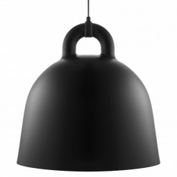 Normann Copenhagen Bell Lampe Large Sort-20