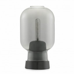 Normann Copenhagen Amp bordlampe Smoke/Sort-20