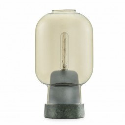 Normann Copenhagen Amp bordlampe Guld/Green-20