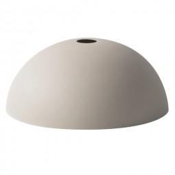 Ferm Living Lampeskærm Dome Shade Lysegrå-20