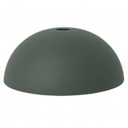 Ferm Living Lampeskærm Dome Shade Mørkegrøn-20