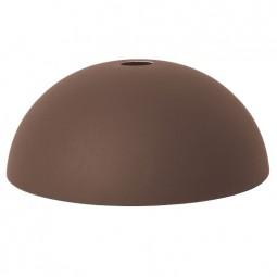 Ferm Living Lampeskærm Dome Shade Rødbrun-20