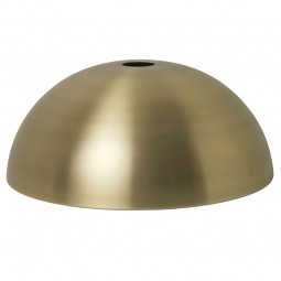 Ferm Living Lampeskærm Dome Shade Messing-20