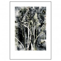 Pernille Folcarelli Grass Charcoal 50x70 cm-20