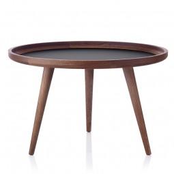 Applicata Tisch Sofabord Ø69 cm Røget Eg/Sort-20