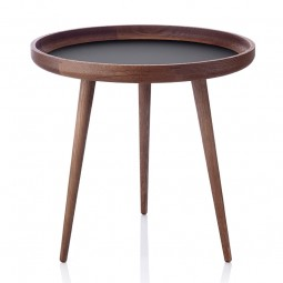 Applicata Tisch Sofabord Ø49 cm Røget Eg/Sort-20