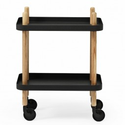 Normann copenhagen Block Rullebord Sort-20