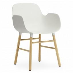 Normann Copenhagen Form Armchair Stol Egetræ-20