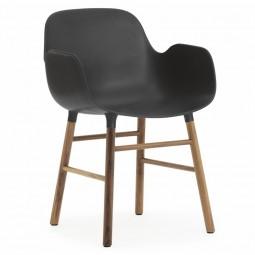 Normann Copenhagen Form Armchair Stol Valnød-20