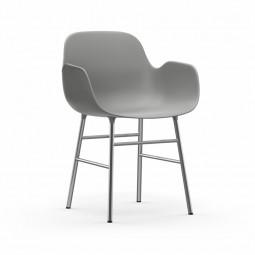 Normann Copenhagen Form Armchair Stol Krom-20
